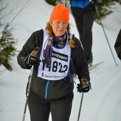 Skiing 90 km - Åsa Hedlund Lindqvist (14822)