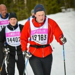 Skiing 90 km - Didrik Forsberg (19183)