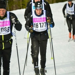 Skiing 90 km - Henry Johansson (18177)