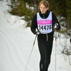 Skiing 90 km - Carl-Adam Thelander (14476)