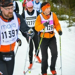 Skiing 90 km - Agneta Franksson (12126)