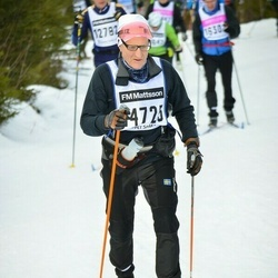 Skiing 90 km - Börje Johansson (14725)
