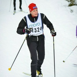 Skiing 90 km - Jenny Andersson (11324)