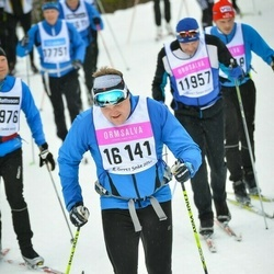 Skiing 90 km - Thomas Persson (16141)