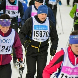 Skiing 90 km - Jan-Åke Franzén (15970)