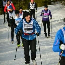 Skiing 90 km - Christer Sjöberg (16688)