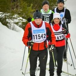 Skiing 90 km - Fredrik Magnusson (11542)