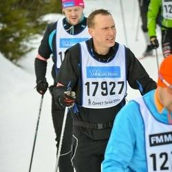 Skiing 90 km - Björn Andersson (17927)