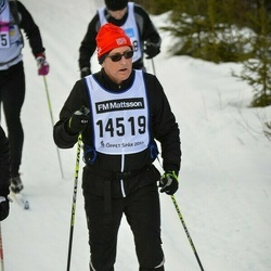 Skiing 90 km - Åke Rosén (14519)