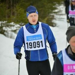 Skiing 90 km - Fredrik Molldén (19091)