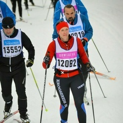Skiing 90 km - Jennie Lagesson (12082)