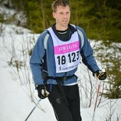 Skiing 90 km - Christian Isetjärn (18123)