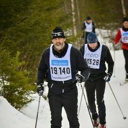 Skiing 90 km - Dennis Jonasson (19140)