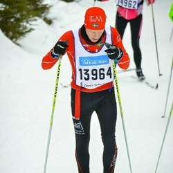 Skiing 90 km - Henrik Svensson (13964)
