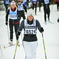 Skiing 90 km - Eva Bouvin (16524)