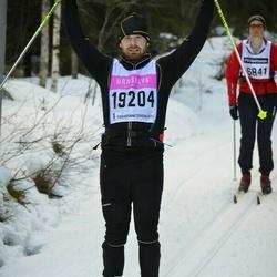 Skiing 90 km - David Lidvall (19204)