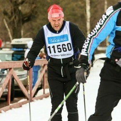 Skiing 90 km - Janne Wikström (11560)