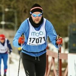 Skiing 90 km - David Sjöblom (17071)