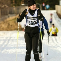 Skiing 90 km - Karin Holst (16685)