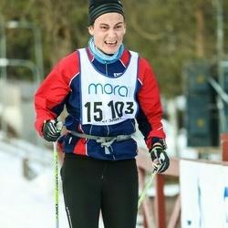 Skiing 90 km - Jonas Gustavsson (15103)
