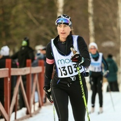 Skiing 90 km - Kristina Lindgren (13036)
