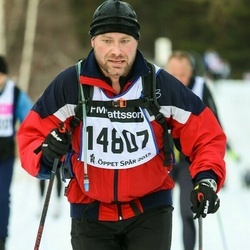 "Skiing 90 km - Jan-Olof ""j-O"" Hansson (14807)"