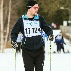 Skiing 90 km - Jimmy Holm (17104)