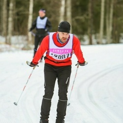 Skiing 90 km - Bo Ahlberg (18007)