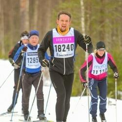 Skiing 90 km - Daniel Larsson (18240)