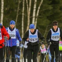 Skiing 90 km - Fredrik Hellgren (15656), Anders Eriksson (15976)