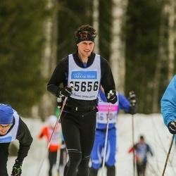 Skiing 90 km - Fredrik Hellgren (15656)