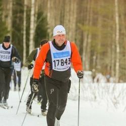 Skiing 90 km - Henrik Bengtsson (17843)