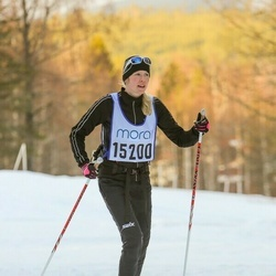 Skiing 90 km - Malin Klerhed (15200)