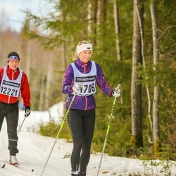 Skiing 90 km - Eleonor Svensson (14706)