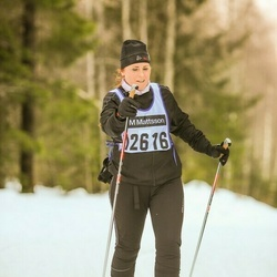 Skiing 90 km - Erina Tilander (12616)