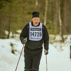 Skiing 90 km - Dennis Johansson (14728)