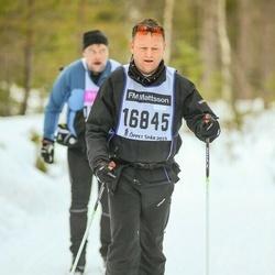 Skiing 90 km - Adam Cooper (16845)