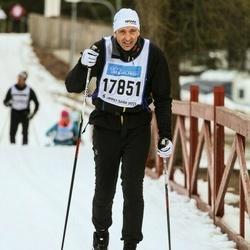 Skiing 90 km - Henrik Andersson (17851)