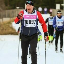 Skiing 90 km - Anders Jonsson (16097)