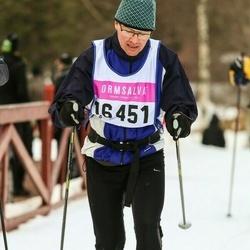 Skiing 90 km - Anders Alfjorden (16451)