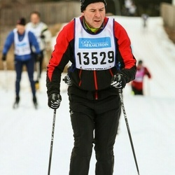 Skiing 90 km - Jens Petersson (13529)