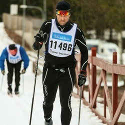 Skiing 90 km - Mikael Andersson (11496)
