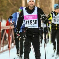 Skiing 90 km - Fredrik Elmér (11938)