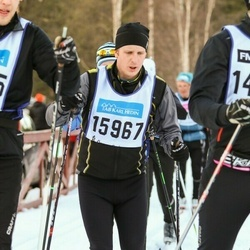 Skiing 90 km - Christofer Molander (15967)