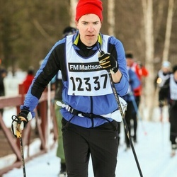 Skiing 90 km - Henrik Andersson (12337)