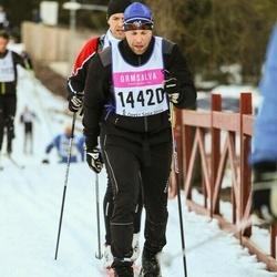 Skiing 90 km - Edvin Kiellarson (14420)