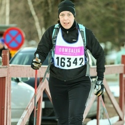 Skiing 90 km - Camilla Larsson (16342)