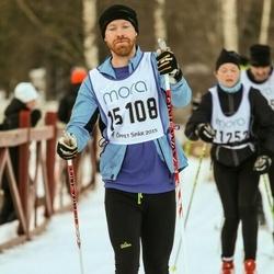Skiing 90 km - Christofer Johansson (15108)