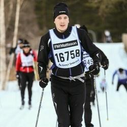Skiing 90 km - Niclas Forslund (16758)