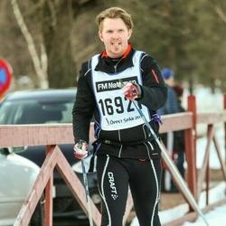 Skiing 90 km - Fredrik Ehrin (16921)
